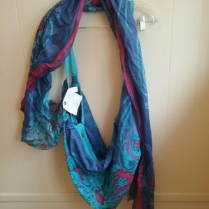 NEW WITH TAGS ALL JAZZED UP HOBO BAG AND SCARF